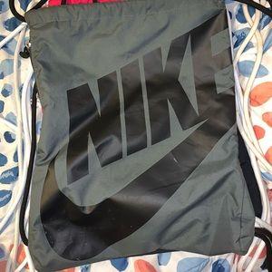 Nike Bags - Grey nike drawstring bag